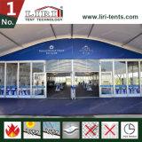 Tente d'Arcum de 1500 personnes avec le mur en verre utilisé comme centre d'événement au Nigéria