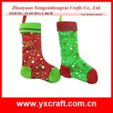 Decoración de Navidad (ZY11S142-1-2) Stock de Navidad Chritmas Calcetín Fabricante