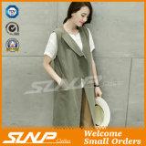 Form-Frauen-Kleidung-Sommer-Baumwollleinen-Umhüllung