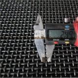 Квадратное отверстие гофрированные проволочной сетки (фабрика)