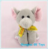 Het afgedrukte Stuk speelgoed van de Jonge geitjes van het Speelgoed van de Pluche van het Speelgoed van het Embleem Kleine Dierlijke