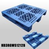 pálete plástica personalizada alta qualidade da cremalheira da grade de 1200X1200X150mm para o transporte