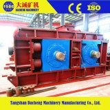 Manufatura de China que esmaga o triturador do rolo do dobro da máquina