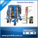 Seguro e simples usar o divisor concreto hidráulico