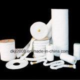 Cuerda da alta temperatura de la fibra de cerámica del aislante termal para el lacre