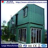 40'hq Casa de contenedores para campo de trabajo con cocina y WC