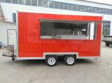 2017 Fabricante Fast Food Trucks Mobile Food Trailer com Ce