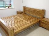 Lits modernes de lit en bois plein doubles (M-X2249)
