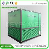 Испытание комплекта генератора цвета желтого цвета крена нагрузки Keypower 1000kw сопротивляющее с сертификатом Ce