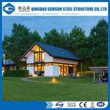 Chambre préfabriquée moderne de luxe de villa en acier de lumière de construction de la Chine, Chambre préfabriquée
