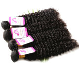 7A 브라질 Virgin 머리 바디 파 Ombre 머리 연장 Ombre 브라질 머리 직물은 3PCS 사람의 모발 연장을 묶는다