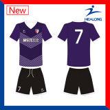 Healong personalizou o futebol respirável Jersey da impressão do Sublimation
