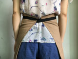 China Factory Custom Cotton Kitchen Waist Apron para mulheres atacado