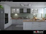 Armário 2015 europeu da cozinha da laca do estilo de Welbom