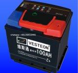 Батарея автомобиля N100 Mf тележки японии 12V автоматическая N120 N150
