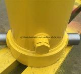 Cilindro hidráulico do estágio longo do curso 5 para o caminhão de descarga