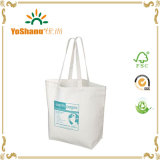 재생된 10oz Cotton Canvas Shopping Tote Bag
