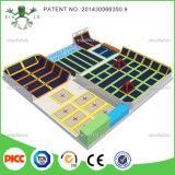Xiaofeixia Indoor Trampoline com Pit Gymnastics