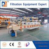 Presse hydraulique de filtre à plaque de chambre de Dazhang pour l'asséchage de cambouis