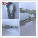 Delta Shaped Snap Hook con Eyelet y Screw