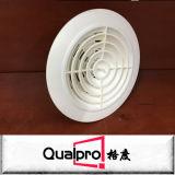 difusor redondo plástico AR6311 do respiradouro de ar do teto da ventilação