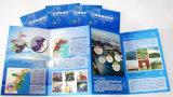 Цветастое книжное производство книга в твердой обложке журнала, Softcover книга