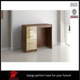 Diseños baratos del vector de preparación de los muebles del espejo de la pared blanca modelo francesa