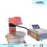 Macchina della marcatura del laser della fibra di serie del piano d'appoggio con l'unità automatica dell'elevatore