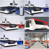 Machine de découpage de laser de fibre d'acier inoxydable pour l'inscription de meubles de repas