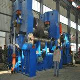 유압 위 롤러 구부리는 금속을%s 보편적인 격판덮개 회전 기계