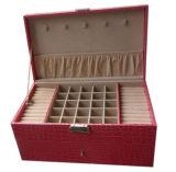 Caixa de relógio de madeira da caixa da caixa luxuosa do plutônio