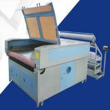 Hochgeschwindigkeitslaser-Stich und Ausschnitt-Maschine (automatischer Vorschub) auf Acrylplastikplanke-Papier