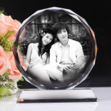 Laser Engraving Machine di prezzo dell'oro 3D Photo Crystal da vendere