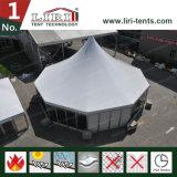 Barraca superior do telhado para a barraca do casamento de 100 povos com decorações