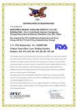 Bestes Laserstrahl150w Qcw Faser-Punkt-Laser-Schweißgerät mit Ipg Laser
