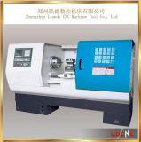 Fanuc/시멘스/GSK 시스템 자동적인 급료 편평한 침대 선반 기계