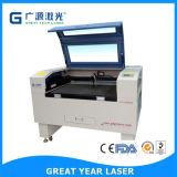 Máquina de estaca do laser do CO2 de matéria têxtil