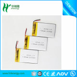 Li-Ionplastik-Batterie 403048 500mAh 3.7V