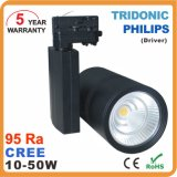 20W 30W 40W 50W COB Dimmable LED Track Spot Light