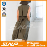 Sleeveless Form-passende Frauen-Umhüllungen-Kleidung für Damen