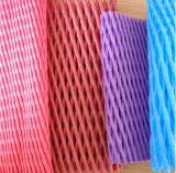 Rede de tubulação de plástico de espuma de plástico colorido para proteção de maçã