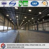 Costruzione prefabbricata della struttura d'acciaio per la mostra corridoio