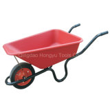 Wheelbarrow da capacidade 60L/4cbf da bandeja 150kgs do PVC