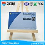 Deslocamento impresso Overlay PVC Plastic ID Membership Cards