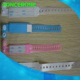 Wristbands de la identificación del PVC de la tarjeta de la pieza inserta de la madre y del bebé del hospital