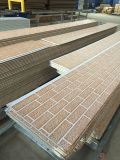 プレハブの建物のための堅いウレタンフォームの絶縁されたパネル