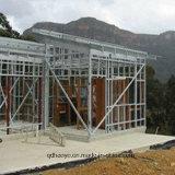 Покрашенная поверхностью дом стальной структуры (SSH-006)