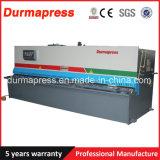 6mm Stärke 3 Meter-Stahlplatten-Blatt-hydraulische Ausschnitt-Maschine/scherende Maschine für Verkauf