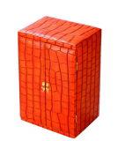 Коробка ювелирных изделий Croco способа кожаный (PB010)