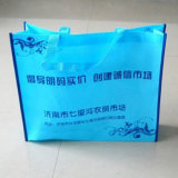 Sacchetti di acquisto non tessuti riutilizzabili amichevoli di verde (LJ-130)